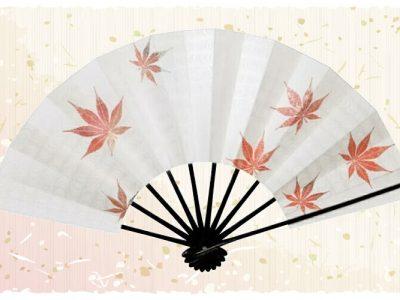 紅葉【舞扇・雅】白