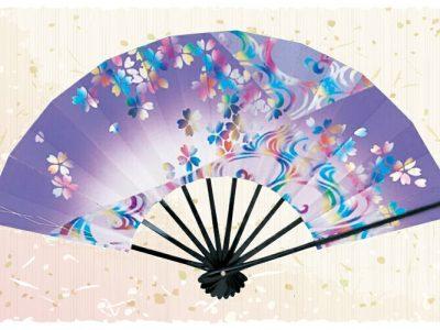 艶桜【舞扇・雅】紫